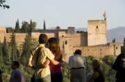 Vue sur l'Alhambra depuis le mirador de San... (Photo fournie par l'Office de Tourisme de Grenade) - image 2.0