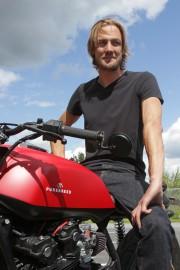 Le propriétaire de Purebreed, Guillaume Brochu.