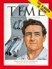 Briggs Swift Cunningham a fait la couverture du magazine Time.