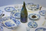 Quelques pièces de vaisselle provenant du restaurant du... (Photo: André Pichette, La Presse) - image 2.0