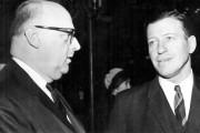 Le maire de Montréal Jean Drapeau et Gilles... (Archives Le Soleil) - image 2.0