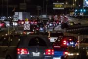 La congestion sur le pont Champlain après la... (Photo: Olivier Pontbriand, La Presse) - image 1.0