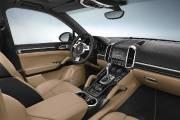 L'intérieur du Cayenne Platinum Edition.