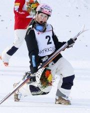 Justine Dufour-Lapointe est déjà assurée d'aller à Sotchi.... (Photo Hakon Mosvold Larsen, Reuters) - image 2.0