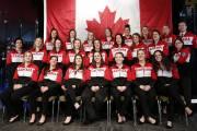 La formation canadienne qui prendra part aux Jeux... (PHOTO LA PRESSE CANADIENNE) - image 1.0