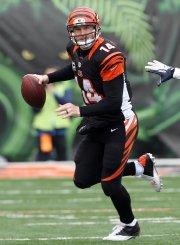 Le quart-arrière Andy Dalton a carrément été mauvais,... (Photo Pat Lovell, USA Today) - image 2.0