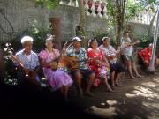 Les visiteurs sont accueillis par des musiciens et... (Photo Andrée Lebel, La Presse) - image 3.0