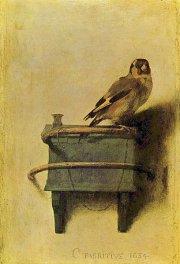 Dans le roman de Donna Tartt, un garçon... (La toile Le chardonneret, de Carel Fabritius) - image 2.0