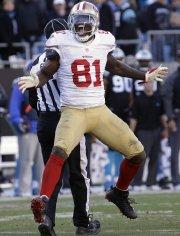 Le receveur des 49ers Anquan Boldin a été... (Photo John Bazemore, AP) - image 3.0