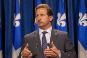 Yves-Francois Blanchet, ministre de l'Environnement du Québec.... (Photo archives La Presse) - image 2.0