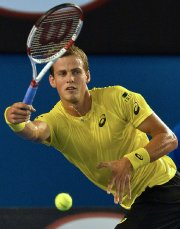 Le Canadien Vasek Pospisil a joué malgré des... (Photo Paul Crock, AFP) - image 3.0