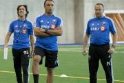 Mauro Biello, entraîneur adjoint, Youssef Dahha, entraîneur des... (Photo archives La Presse) - image 3.0