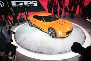 La Kia GT4 Stinger... (Photo Geoff Robins, AFP) - image 3.0