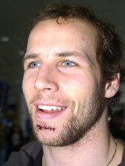 Steve Bégin, le lendemain du match éliminatoire contre... (Photo Bernard Brault, archives La Presse) - image 6.0