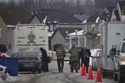 Les corps ont été trouvés aux environs de... (Photo Patrick Sanfaçon, La Presse) - image 1.1