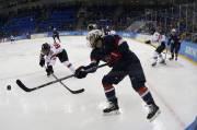 Monique Lamoureux est attaquante pour l'équipe nationale américaine... (Photo Jim Young, Reuters) - image 1.0
