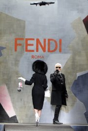 La maison de haute couture italienne Fendi a... (Photo Giuseppe Aresu, AP) - image 1.0