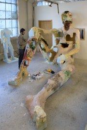David Altmejd dans son atelier, en 2007.... (Photo fournie par la Galerie Andrea Rosen) - image 9.0