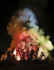 Le grand feu de Bouge.... (Photo Étienne Fortin-Gauthier, collaboration spéciale) - image 3.0