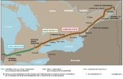 Plan du projet d'inversion de la canalisation 9Bet... (Illustration fournie par Enbridge) - image 1.0