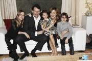 La famille Snyder-Péladeau. De gauche à droite: Marie... (PHOTO FOURNIE PAR LA FAMILLE) - image 5.0