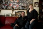 Gavin Johnston, photographié avec sa conjointe Katherine Hersey.... (Photo David Boily, La Presse) - image 10.0