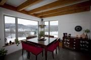 La salle à manger, avec vue sur les... (PHOTO ALAIN ROBERGE, LA PRESSE) - image 2.0