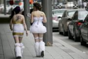 Le 20e Bal en blanc de Montréal s'est... (Photo David Boily, La Presse) - image 1.0