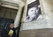 Un portrait de Gabriel Garcia Marquez a été... (Photo: AFP) - image 2.0