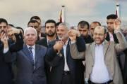 Des représentants du Hamas et du Fatah, dont... (PHOTO SUHAIB SALEM, REUTERS) - image 2.0