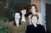 Lise Thériault (deuxième rangée à droite) admirait Louise... (PHOTO ROBERT SKINNER, LA PRESSE) - image 3.0
