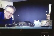 «Skype avec Marc!» écrit Éric Morin, qui vit... (Photo: fournie par l'artiste) - image 5.0