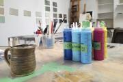 Du turquoise, de l'indigo, du rose, du jaune:... (Photo: fournie par l'artiste) - image 7.0