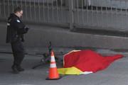 Le viaduc où a eu lieu l'accident mortel,... (Photo: Patrick Sanfaçon, La Presse) - image 2.0