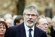 Gerry Adams, 65 ans, président du Sinn Fein,... (PHOTO CATHAL MCNAUGHTON, ARCHIVES REUTERS) - image 2.0