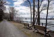 Une promenade riveraine de trois kilomètres serait aménagée... (PHOTO MARCO CAMPANOZZI, LA PRESSE) - image 1.0