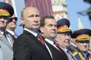 Vladimir Poutine (2e en partant de la gauche)... (PHOTO MIKHAIL KLIMENTYEV, REUTEURS/RIA-NOVOSTI) - image 3.0