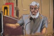 Les jurés dans le procès du prêcheur radical... (Illustration Jane Rosenberg fournie par Reuters) - image 1.0