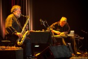 Evan Parker et Fred Frith,... (PHOTO MARTIN MORISSETTE, FOURNIE PAR FIMAV) - image 1.0