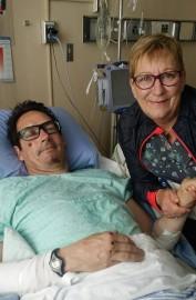 Pierre Karl Péladeau esthospitalisé au CHU de Sherbrooke.... (Photo tirée de Facebook) - image 1.0