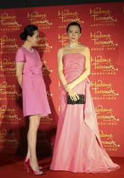 L'actrice originaire de Hong Kong Carina Lau, à... (Photo BARRY HUANG, Reuters) - image 2.0