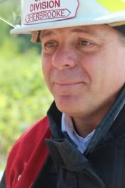Le chef de division du SPIS Daniel Gingras.... (La Tribune, René-Charles Quirion) - image 1.0