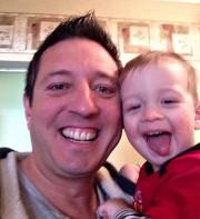 Thierry Patenaude-Turcotte et son fils Nicolas.... (Photo tirée de Facebook) - image 1.0