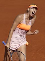 Maria Sharapova... (Photo Kenzo Tribouillard, AFP) - image 2.0