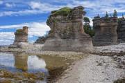 Les monolithes de l'île de Niapiskau, dans le... (Collaboration spéciale Pierre-Olivier Fortin) - image 2.0