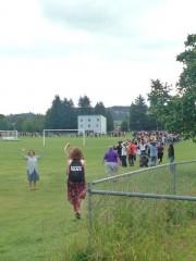 Un élève a été tué mardi matin lors... (Photo tirée de Twitter/Justin Trucker) - image 1.1