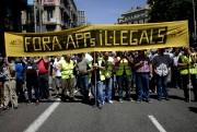 À Madrid, la grève doit durer 24 heures.... (PHOTO JOSEP LAGO, AFP) - image 2.1