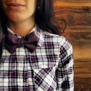 Un noeud papillon pour les filles, pourquoi pas?... (Photo fournie par Évelyne L. Morin) - image 1.1