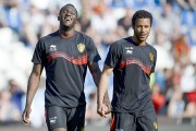 Romelu Lukaku (à gauche) et Moussa Dembele, deux... (PHOTO DIRK WAEM, AFP/BELGA) - image 5.0