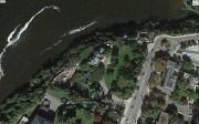 Des travaux de construction derrière le 24, promenade... (Photo tirée de Google Earth) - image 2.0